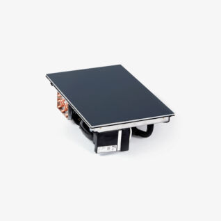 Kombihäll GN 1/1 Inbyggt kylsystem / RAL 7016