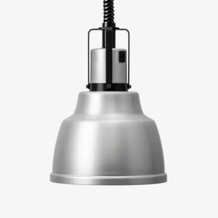 Värmelampa Focus IO Hiss Aluminium