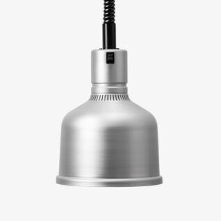 Värmelampa Focus MS Hiss Aluminium