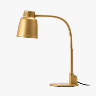 Freestanding Heat Lamp Focus LPF Brass