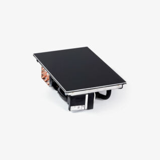 Kombihäll GN 1/1 Inbyggt kylsystem / RAL 9004