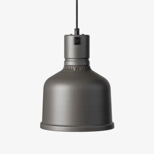 Värmelampa Focus MS Fast Kabel Umbra Grey