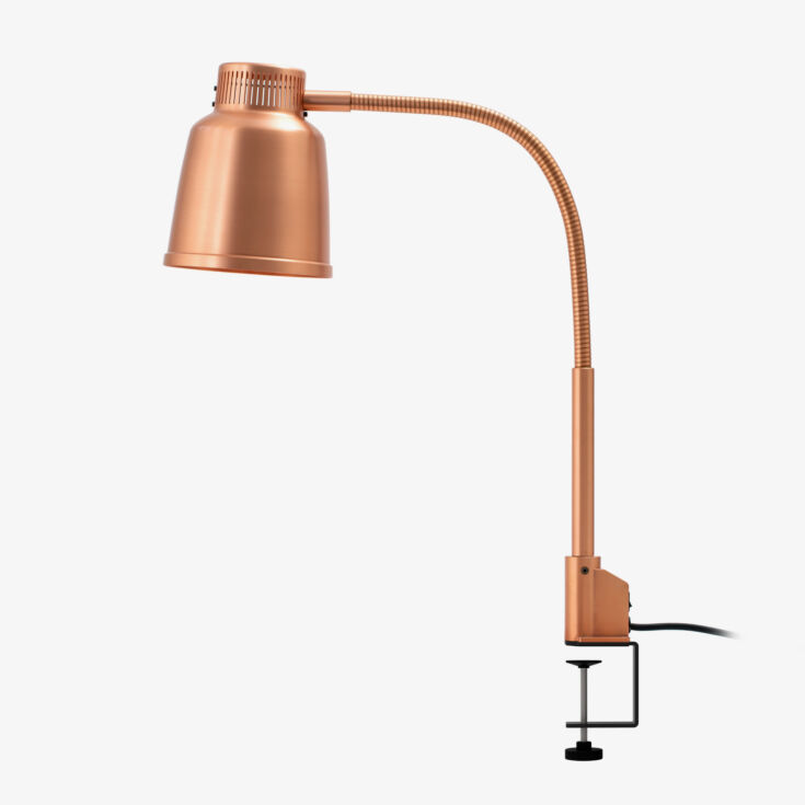 Stayhot Freestanding Heat Lamp Focus LPF Clamp Base Copper