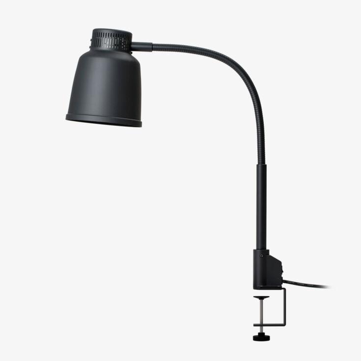 Stayhot Freestanding Heat Lamp Focus LPF Clamp Base Black